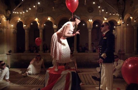 Oscar, Un Ballo in Maschera, Iford Opera 2015 (Eddie Wade as Renato)