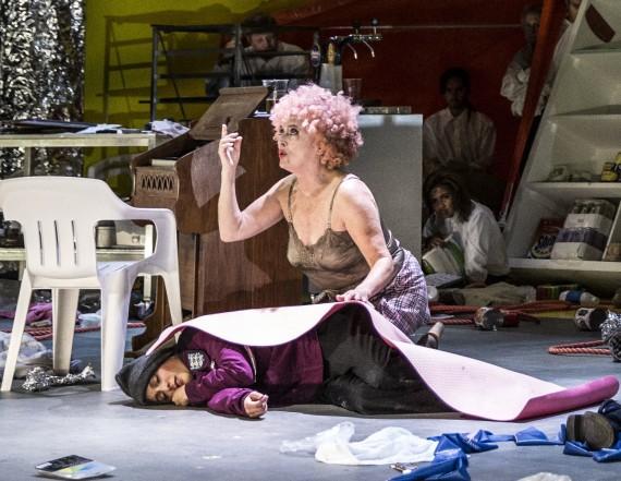 Johanna, Sweeney Todd, Nederlandse Reisopera 2014 (Doris Baaten as Beggar Woman) Photo: Marco Borggreve